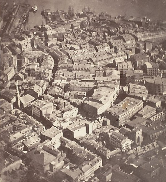 First Aerial Photograph